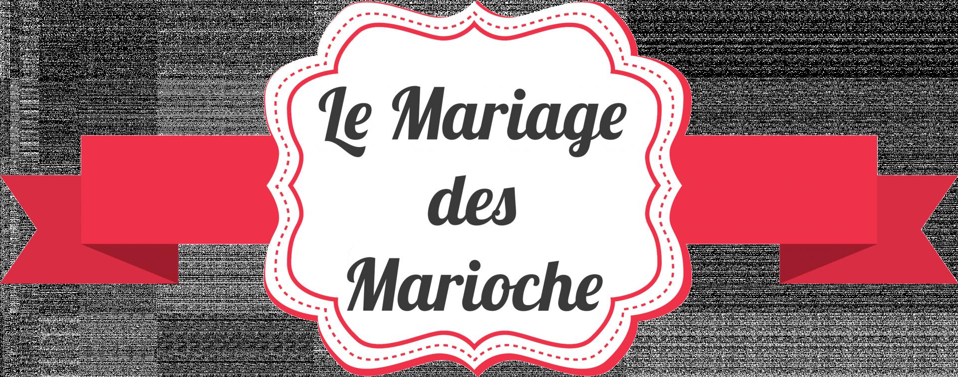 Logo Le Mariage des Marioche V03