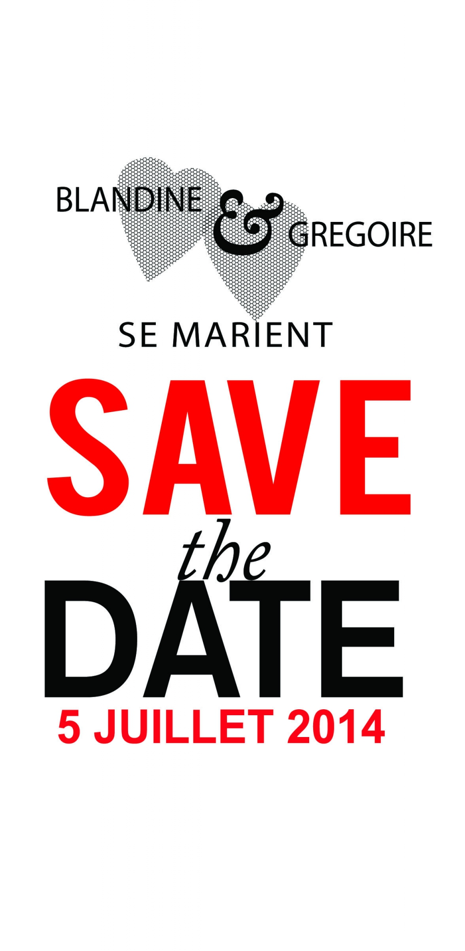 Save the date Coeur V1 Recto